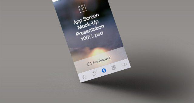 Perspective App Screen Mock-Up 4