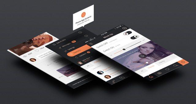 Perspective App Screens Mock-Up 3