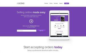 Creative Ascend ‰ÛÒ PSD ecommerce template