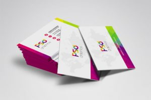 Creative Colorful Business Card Free PSD Graphics