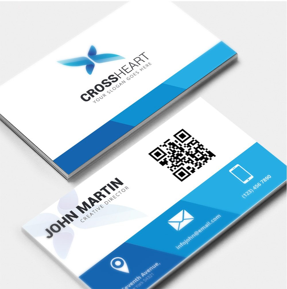 Creative Corporate Business Card Free PSD