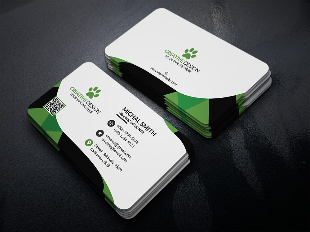 Creative Corporate Business Card PSD
