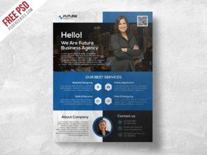 Creative Corporate Flyer PSD Template