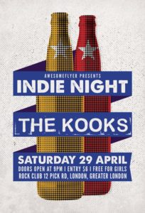 Indie Rock Free Flyer Template