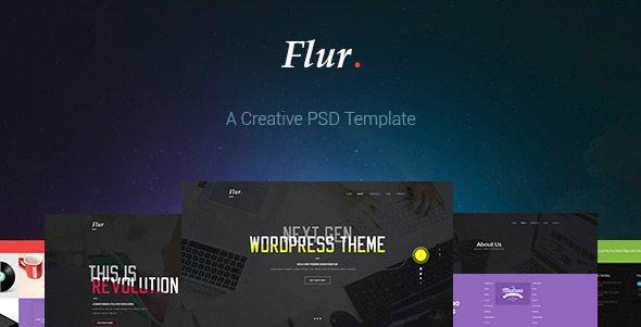 Flur - Creative PSD Template