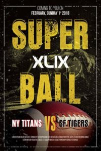 Super Ball Free Flyer Template