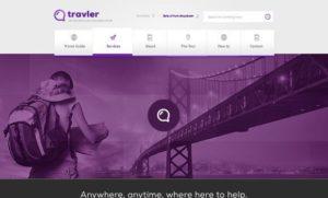 Creative Traveler ‰ÛÒ free PSD Webdesign