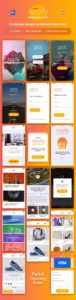 Creative Appify: Free Mobile App UI Kit Vol.1