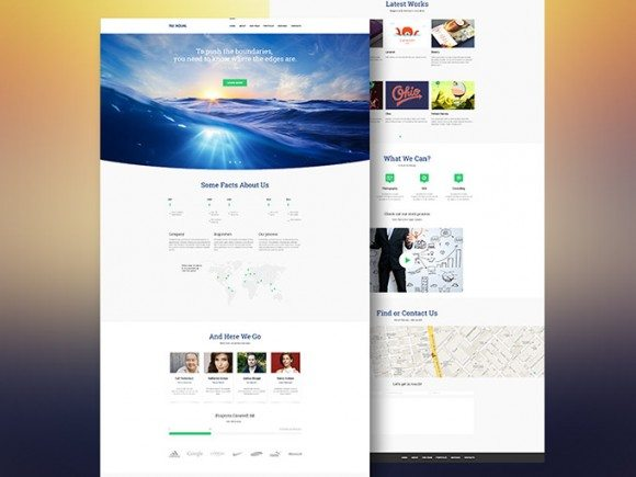 Creative Aqual ‰ÛÒ Free website template