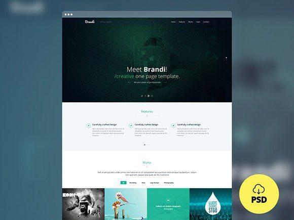 Creative Brandi ‰ÛÒ Multipurpose PSD template