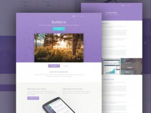 Creative Builder ‰ÛÒ Free web app template