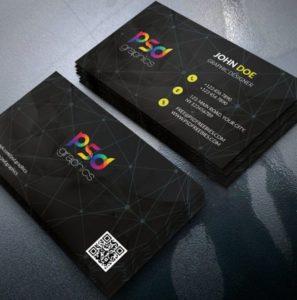 classi-black-business-card