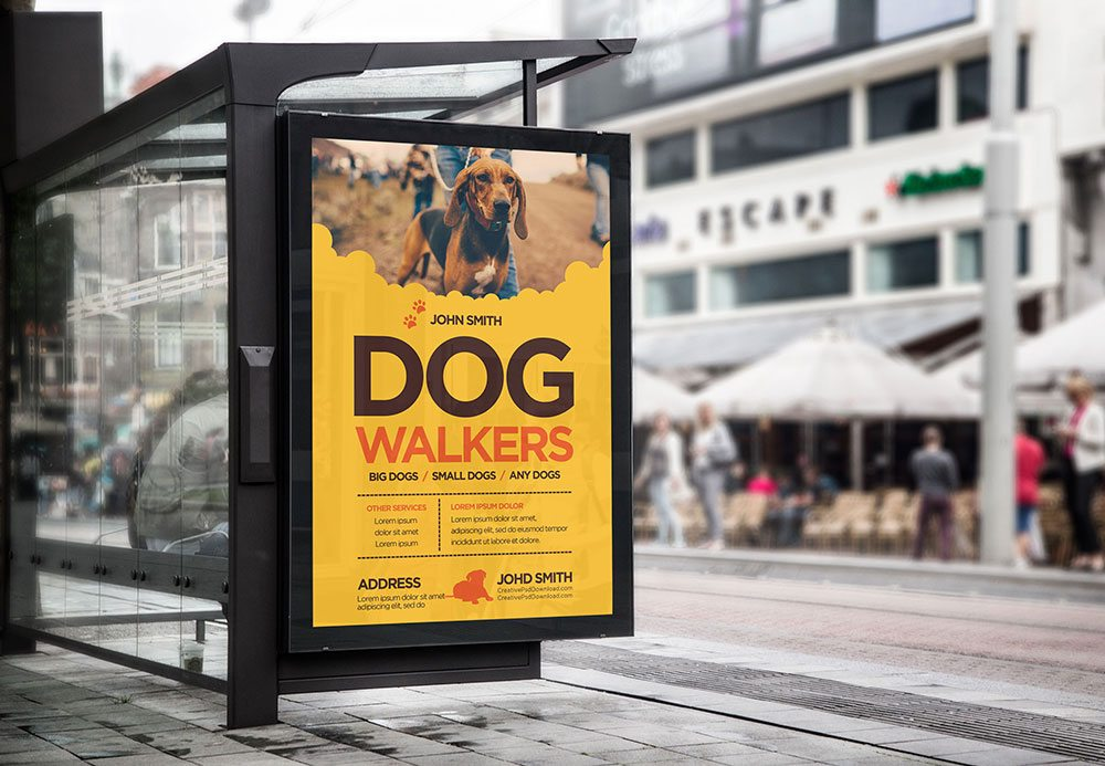 Creative Dog Walkers Flyer Showcase 2
