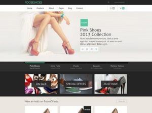 Creative eCommerce PSD template
