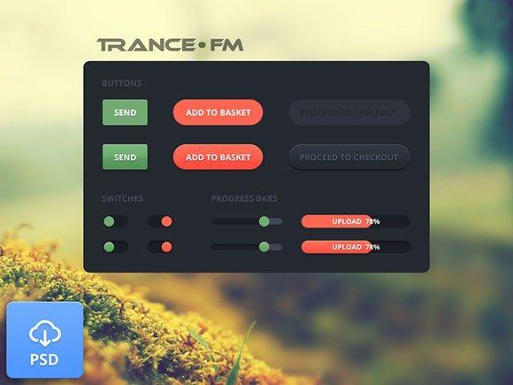 Creative Web elements ‰ÛÒ Trance FM
