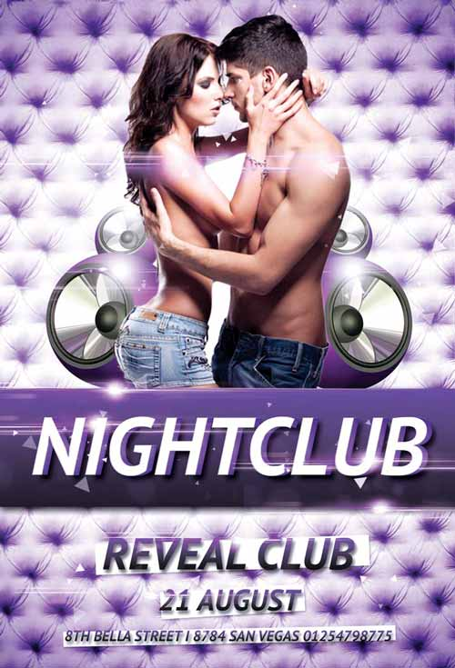 Nightclub Party Flyer Template