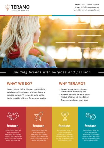 Free Creative Agency Poster Template