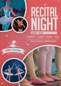 Ballet Dance Event Free Flyer Template
