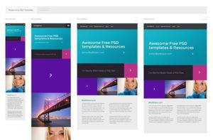 Creative Free PSD responsive template