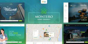 Montero ‰ÛÒ Real Estate & Property PSD Template