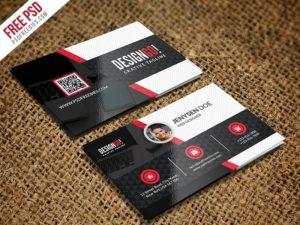 Creative Creative and Modern Business Card Template PSD