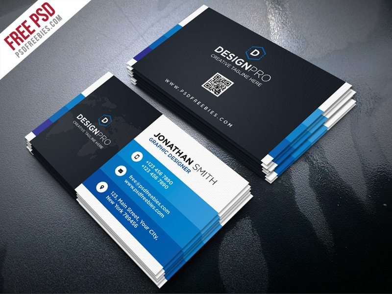 Creative Creative and Modern Business Card PSD Bundle