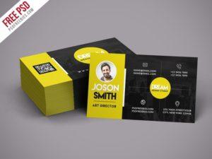 Creative Creative Design Studio Business Card Template PSD