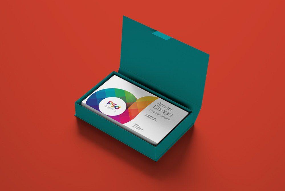 Creative Business Card Mockup PSD