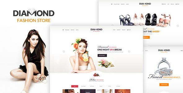 Diamond - Multi-Purpose eCommerce PSD Template