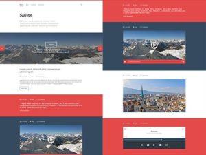 Creative Swiss ‰ÛÒ Free PSD Tumblr template