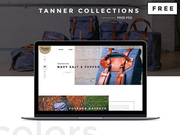 Creative Tanner Collections: Free PSD ecommerce template