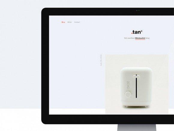 Creative TANx: A free minimal WordPress theme