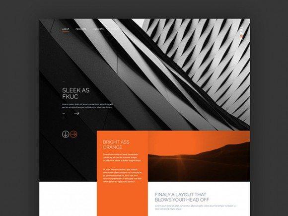 Creative Trans ‰ÛÒ PSD website template
