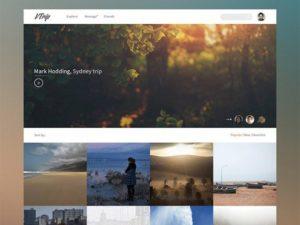 Creative Travel video book ‰ÛÒ PSD template