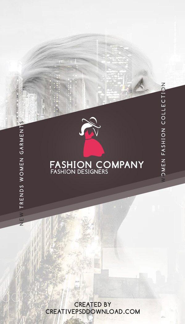Fashion Designer Business Card Free PSD