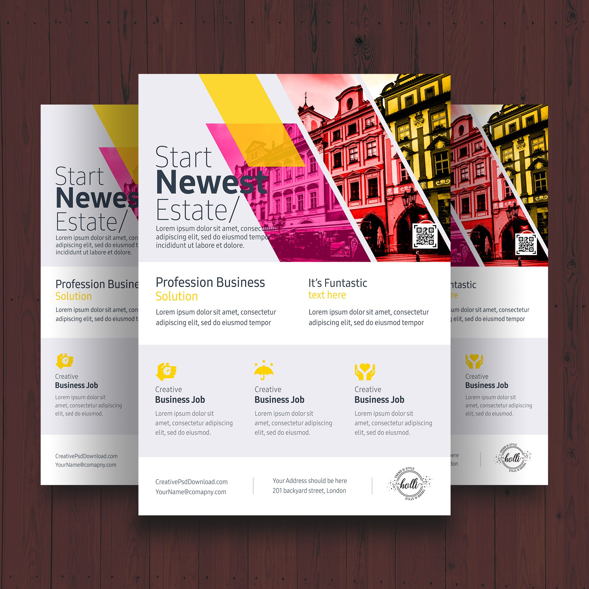 Professional Business Flyer PSD Template