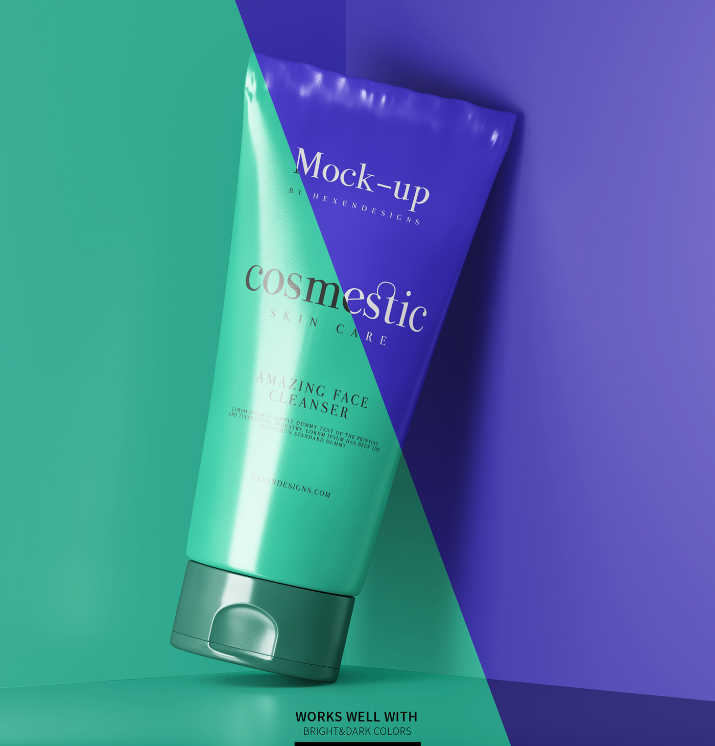 Cosmetic Tube Mockup Set