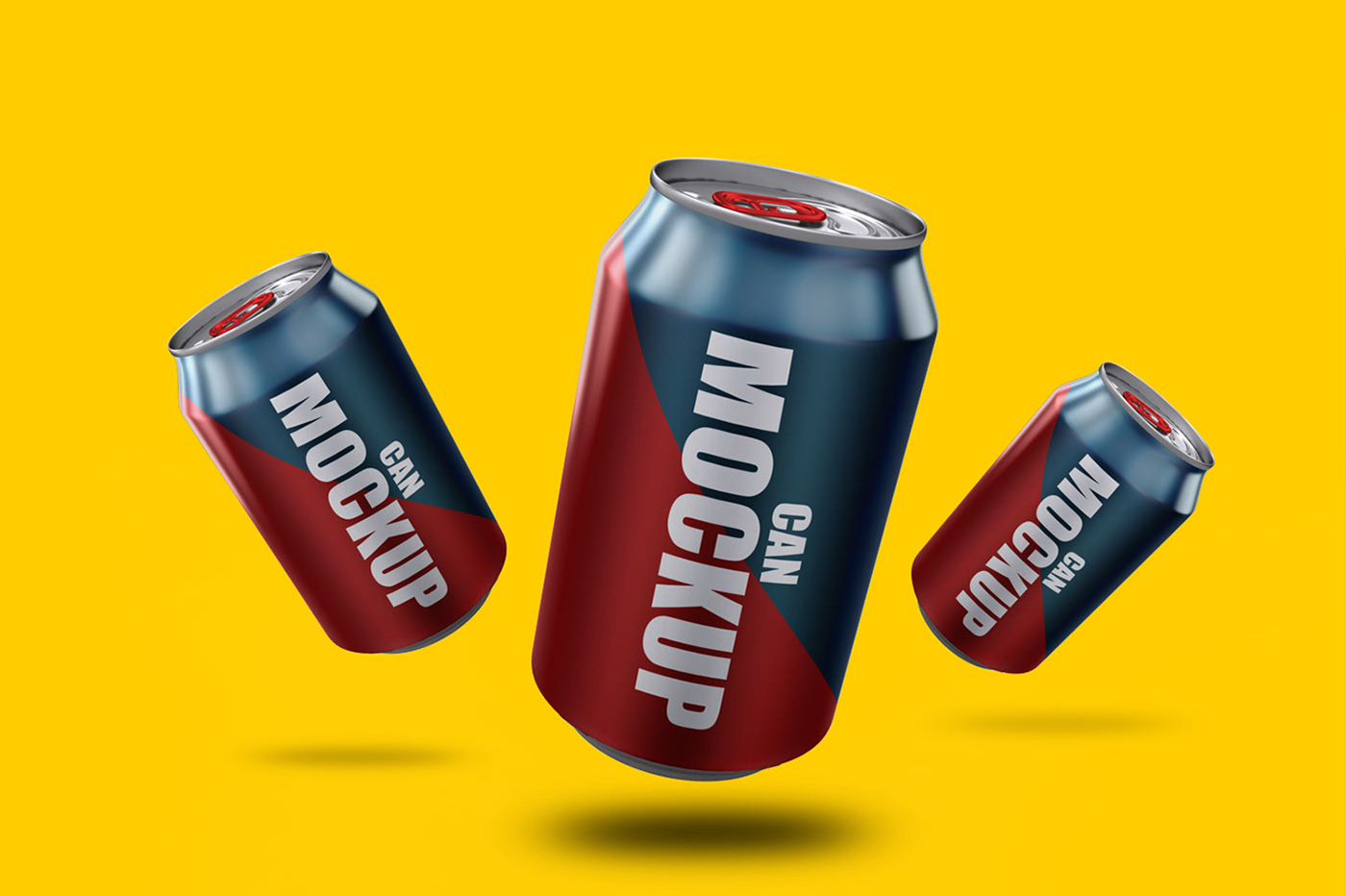 Soda Cans Mockup Bundle