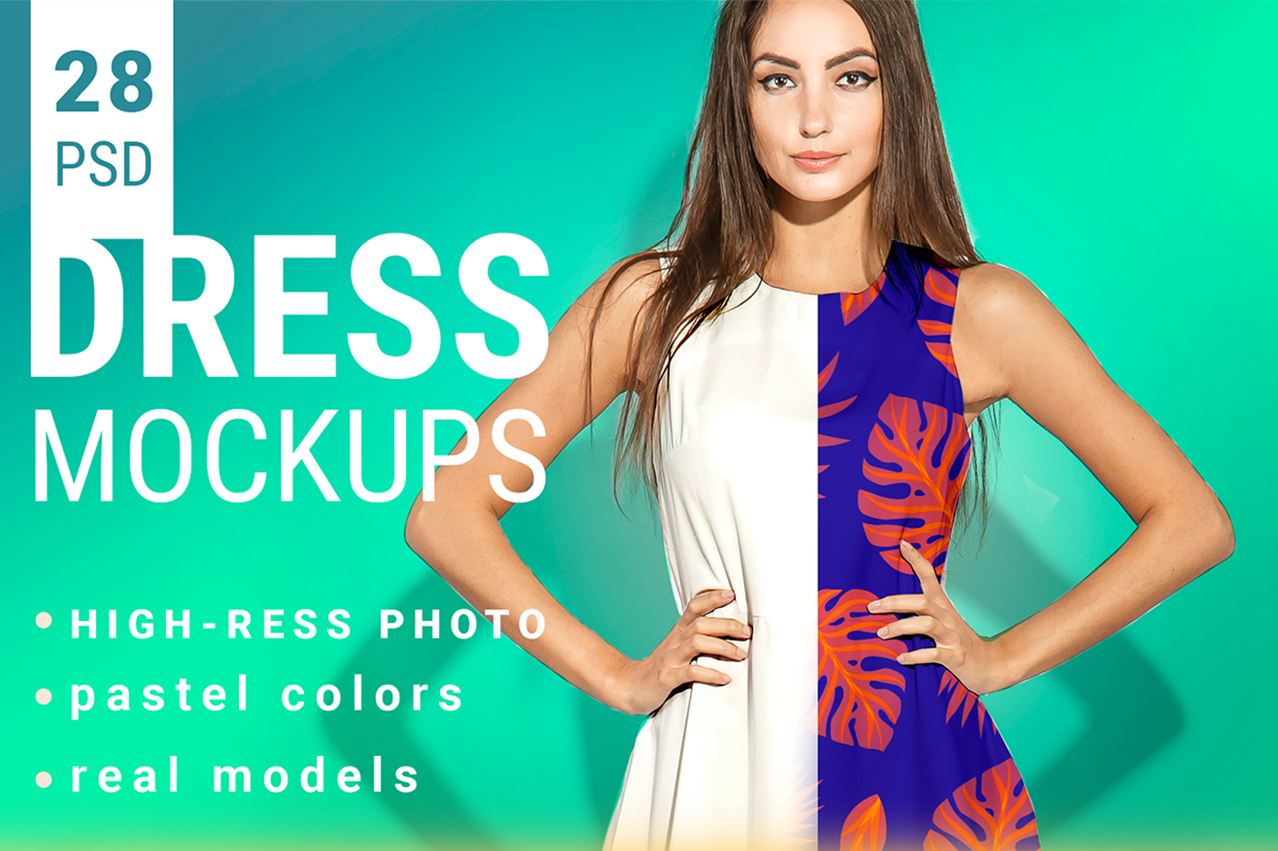 Woman's Dress Mockup