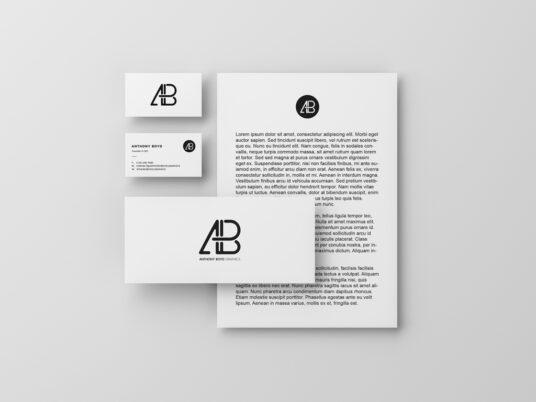 Branding Identity Stationery Mockup