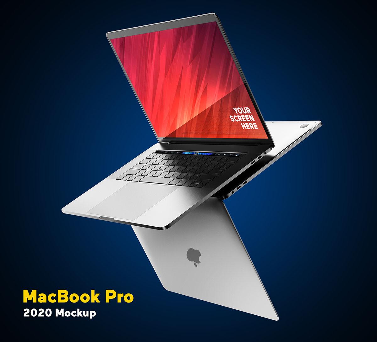 MacBook Pro 2020 Psd Mockup