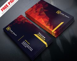 Creative Agency and Graphic Designer Business Card