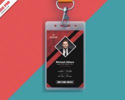 Creative Identity Card Free PSD