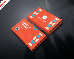 Creative Agency Business Card Free PSD