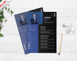 Creative Resume Template Freebie PSD Free Download