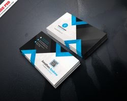 Corporate Business Card PSD Free Download
