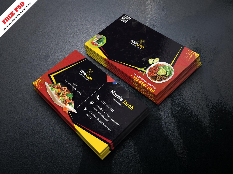 Restaurant business card, Restaurant creative business card, Restaurant business card free, Restaurant businness card free psd, Restaurant business card freebie, Restaurant business card freebie psd, Restaurant freebie business card, Restaurant, Restaurant card, Restaurant identity card